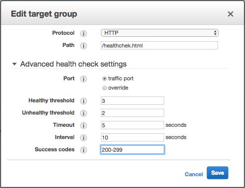 healthcheck-response-codes
