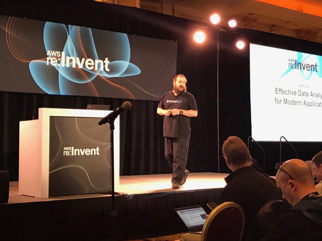 Christian Beedgen, CTO Sumo Logic at AWS reInvent 2016