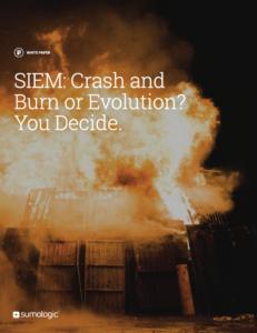 SIEM crash and burn you decide