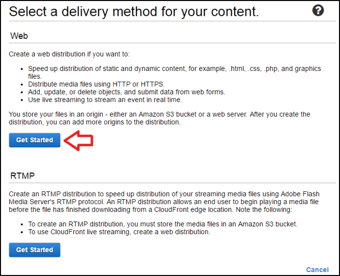 amazon-cloudfront-delivery-method
