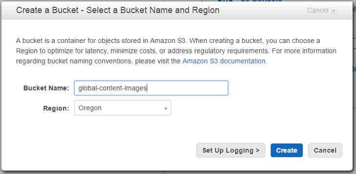 amazon-cloudfront-bucket
