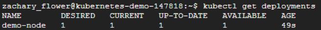 verifying node deployment